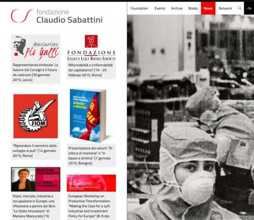 Pagina su Fondazione Sabattini