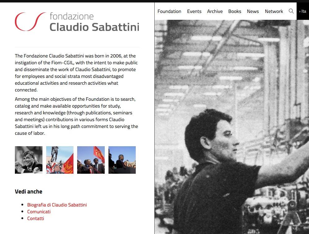 Home page Fondazione Sabattini