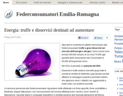 Federconsumatori - Articolo