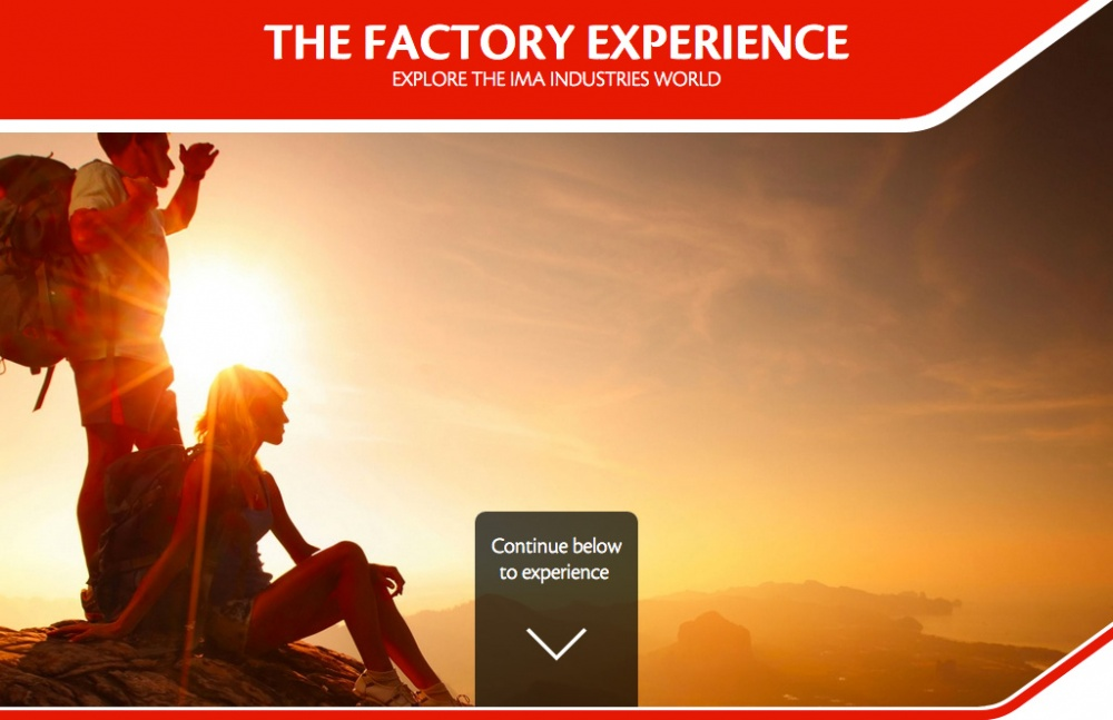 IMA Experience - home page